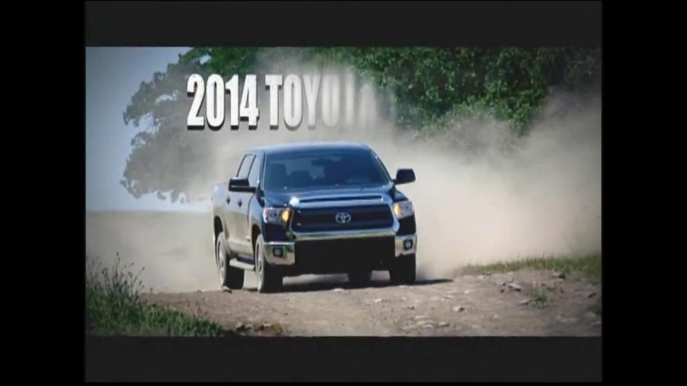 2014 Toyota Tundra TV Spot, 'More Than You'll Ever Need' - Screenshot 4