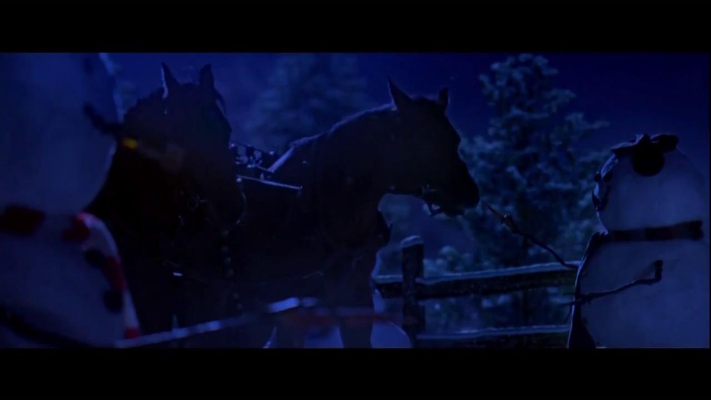 Wells Fargo TV Spot, 'The Stagecoach and the Snowmen' - Screenshot 6