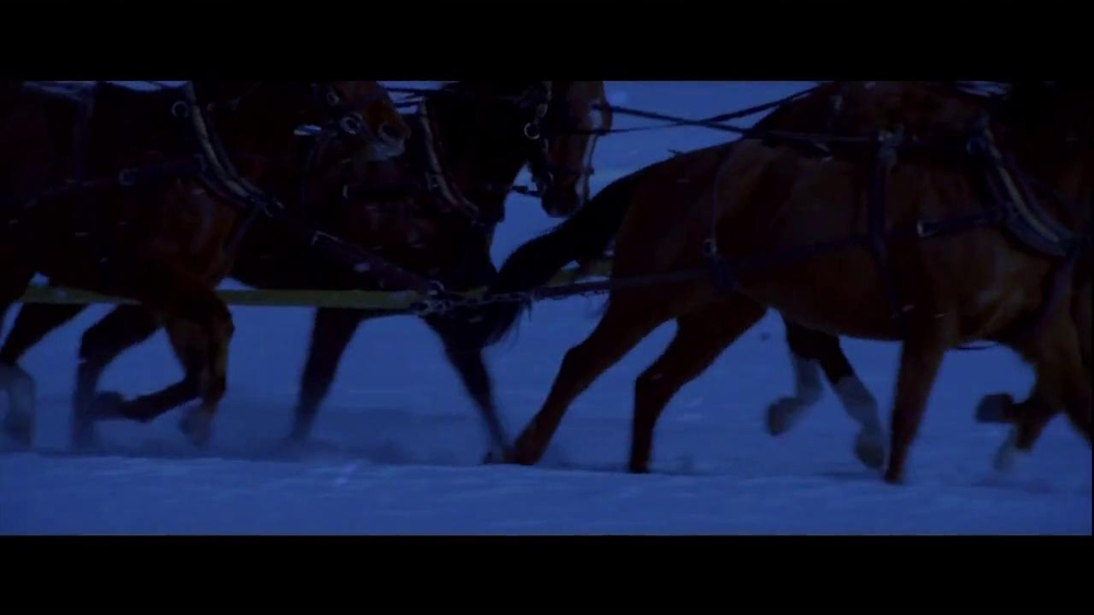 Wells Fargo TV Spot, 'The Stagecoach and the Snowmen' - Screenshot 8