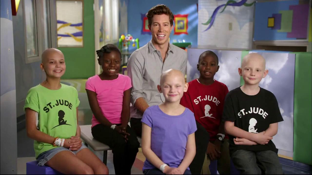 St. Jude Children's Research Hospital TV Spot Featuring Shaun White - Screenshot 1