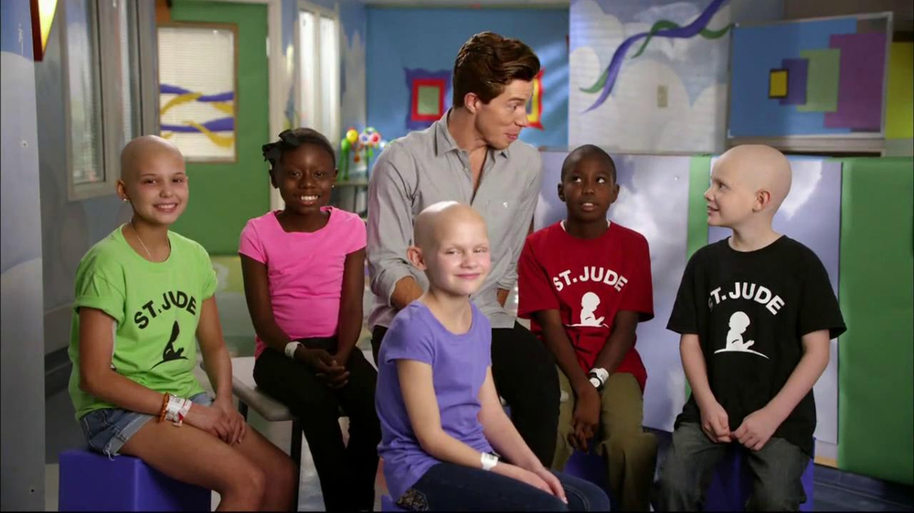 St. Jude Children's Research Hospital TV Spot Featuring Shaun White - Screenshot 8