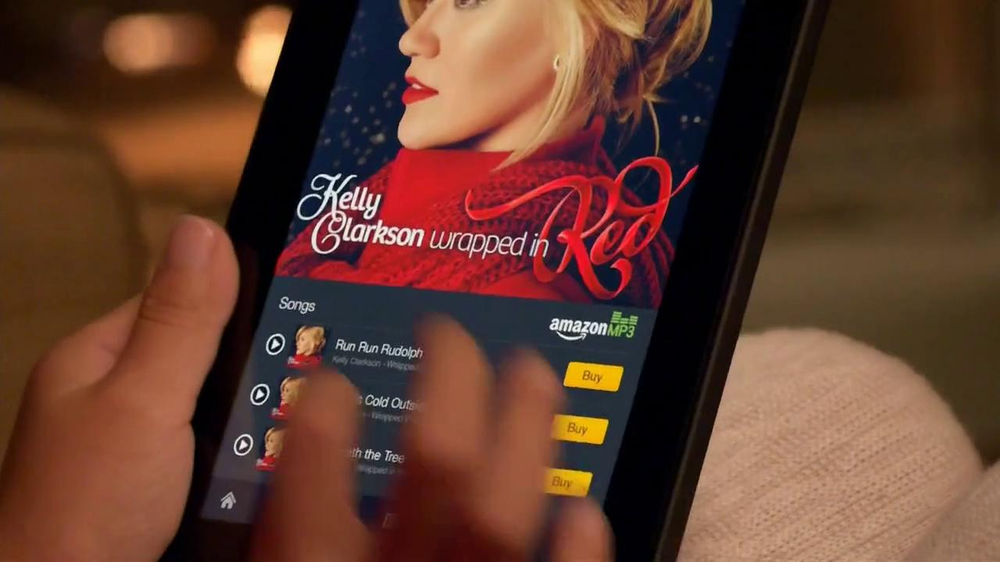 Amazon Kindle Fire Hdx Tv Commercial Song By Kelly