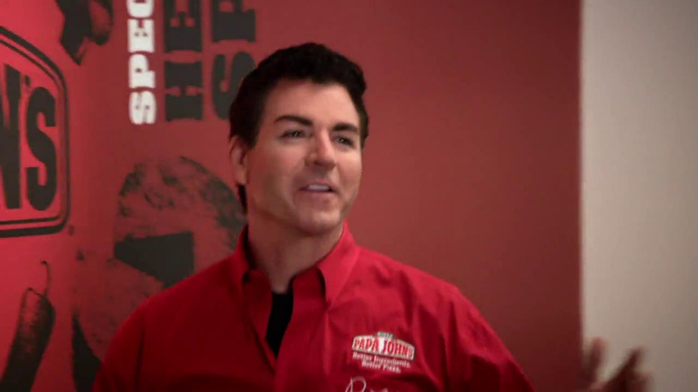 Papa John's TV Spot, 'Tossing the Dough' Featuring Peyton Manning - Screenshot 6