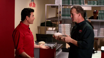 Papa John's TV Spot, 'Tossing the Dough' Featuring Peyton Manning - Thumbnail 7