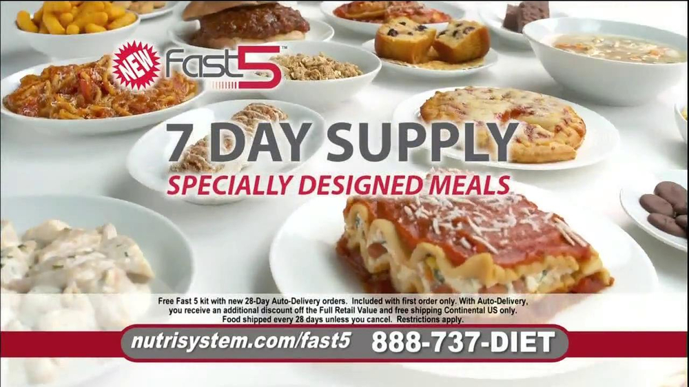 Nutrisystem Fast 5 TV Spot, 'Michelle' - Screenshot 10