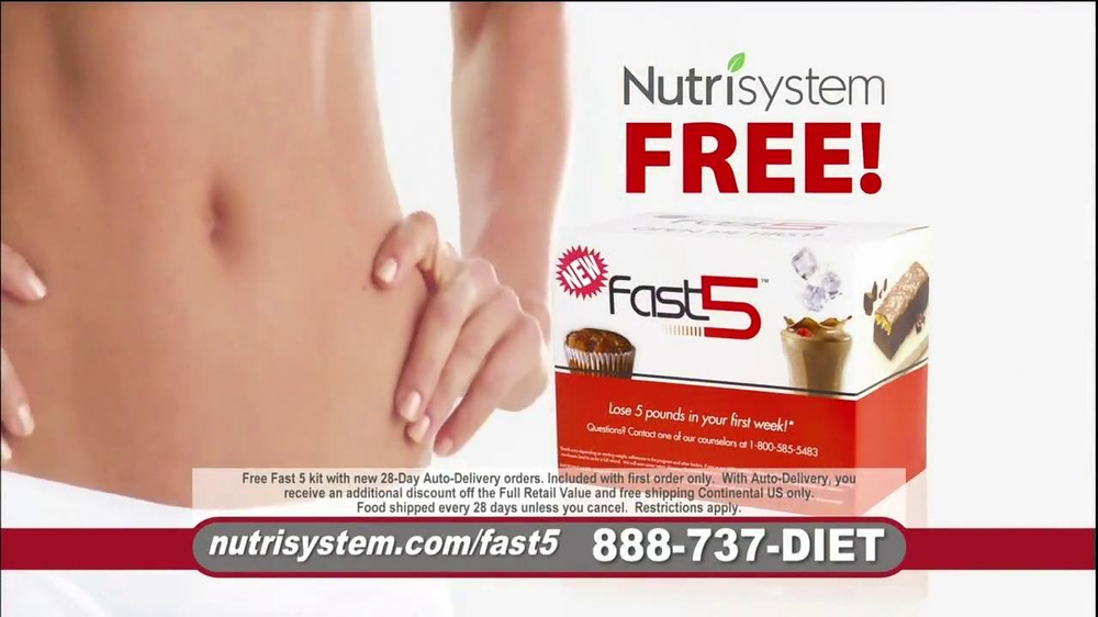 Nutrisystem Fast 5 TV Spot, 'Michelle' - Screenshot 2