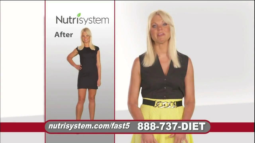 Nutrisystem Fast 5 TV Spot, 'Michelle' - Screenshot 4