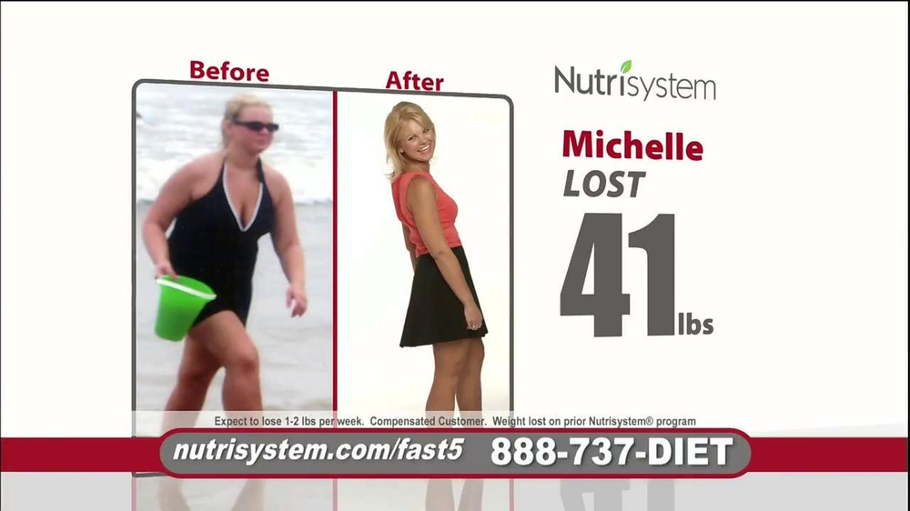 Nutrisystem Fast 5 TV Spot, 'Michelle' - Screenshot 6