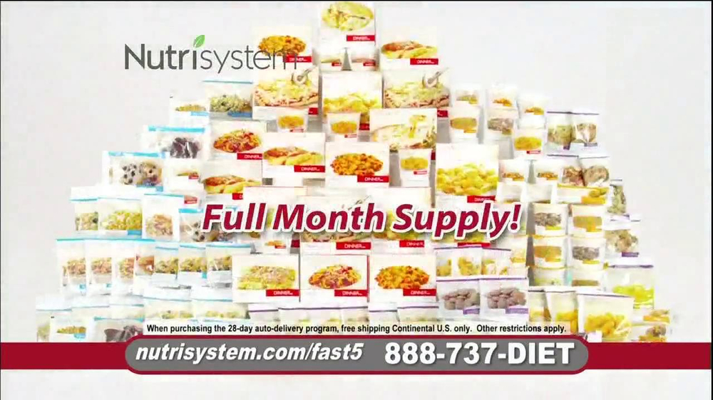 Nutrisystem Fast 5 TV Spot, 'Michelle' - Screenshot 7