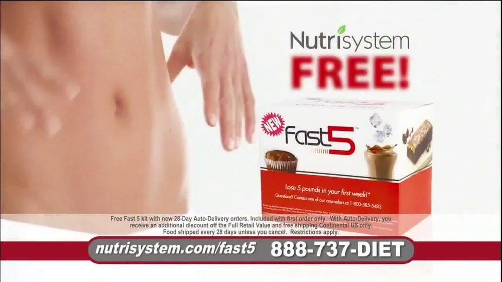 Nutrisystem Fast 5 TV Spot, 'Michelle' - Screenshot 8