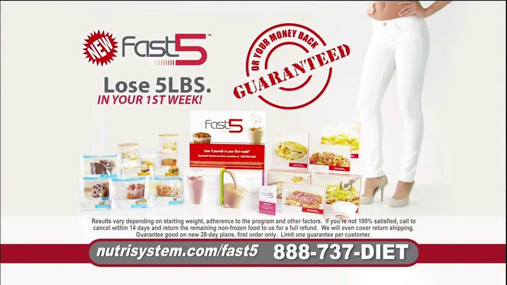 Nutrisystem Fast 5 TV Spot, 'Michelle' - Screenshot 9