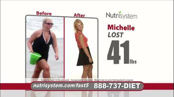 Nutrisystem Fast 5 TV Spot, 'Michelle' - Thumbnail 6