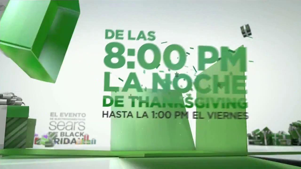 El Evento de Electrodomésticos Sears de Black Friday TV Spot [Spanish] - Screenshot 2