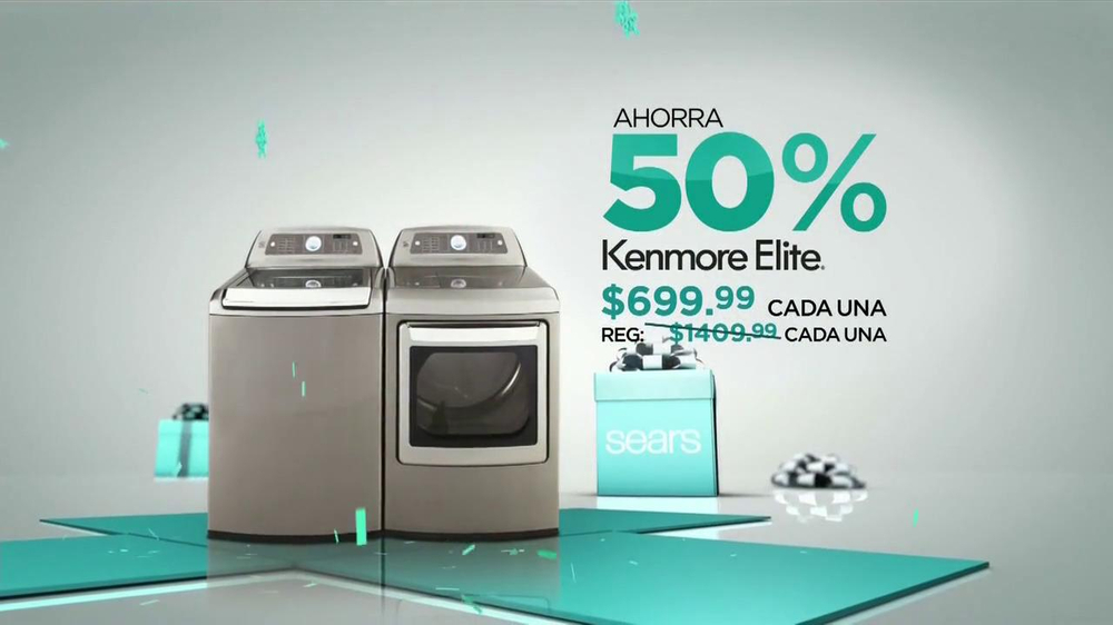 El Evento de Electrodomésticos Sears de Black Friday TV Spot [Spanish] - Screenshot 6