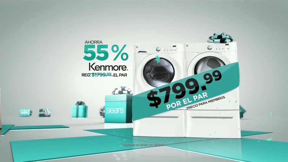 El Evento de Electrodomésticos Sears de Black Friday TV Spot [Spanish] - Screenshot 7