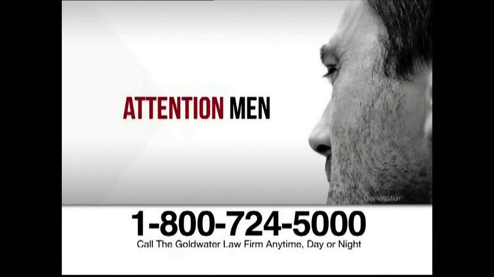 Goldwater Law Firm TV Spot, 'Testosterone' - Screenshot 1