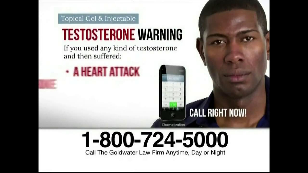 Goldwater Law Firm TV Spot, 'Testosterone' - Screenshot 6