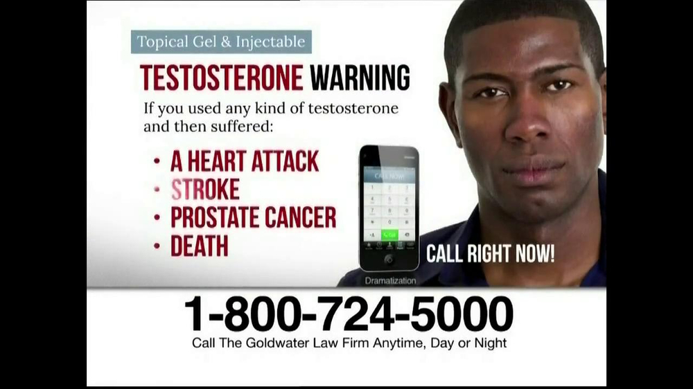 Goldwater Law Firm TV Spot, 'Testosterone' - Screenshot 7