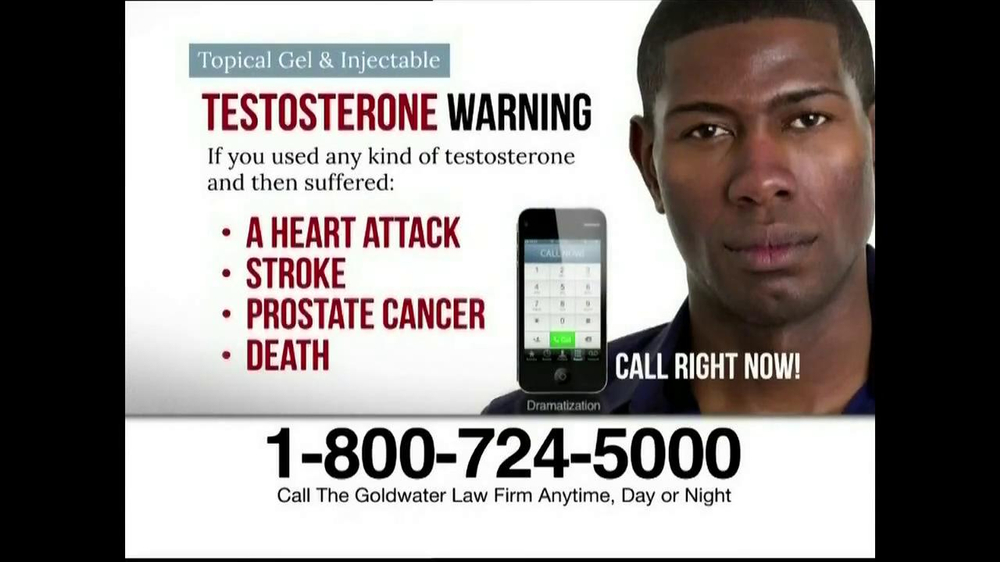 Goldwater Law Firm TV Spot, 'Testosterone' - Screenshot 8