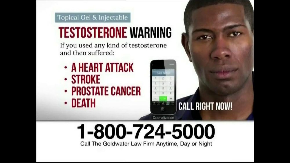 Goldwater Law Firm TV Spot, 'Testosterone' - Screenshot 9