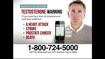 Goldwater Law Firm TV Spot, 'Testosterone' - Thumbnail 4