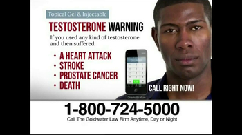 Goldwater Law Firm TV Spot, 'Testosterone' - Thumbnail 9