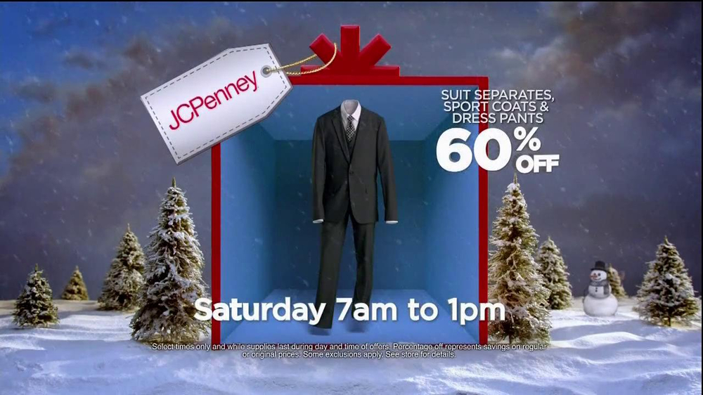 JCPenney Super Saturday Sale TV Spot, 'Jingle Mingle' - Screenshot 9