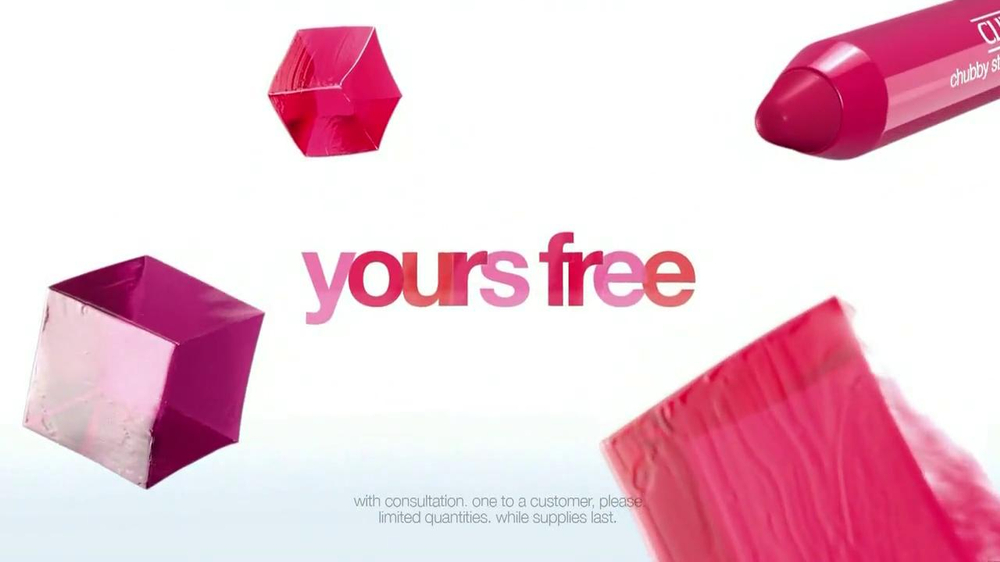 Clinique Chubby Stick TV Spot, 'Free' - Screenshot 10