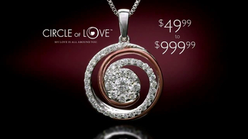 Helzberg Diamonds Circle of Love Pendant TV Spot