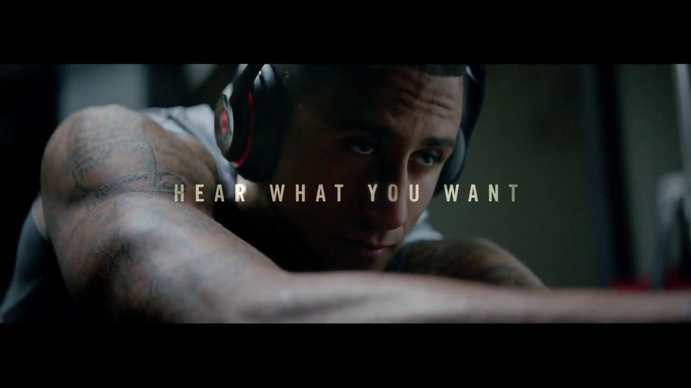 Beats Studio TV Spot Featuring Colin Kaepernick, Song by Aloe Blacc - Screenshot 10