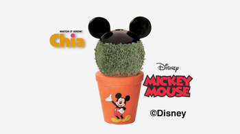 Chia Pet Mickey Mouse TV Spot