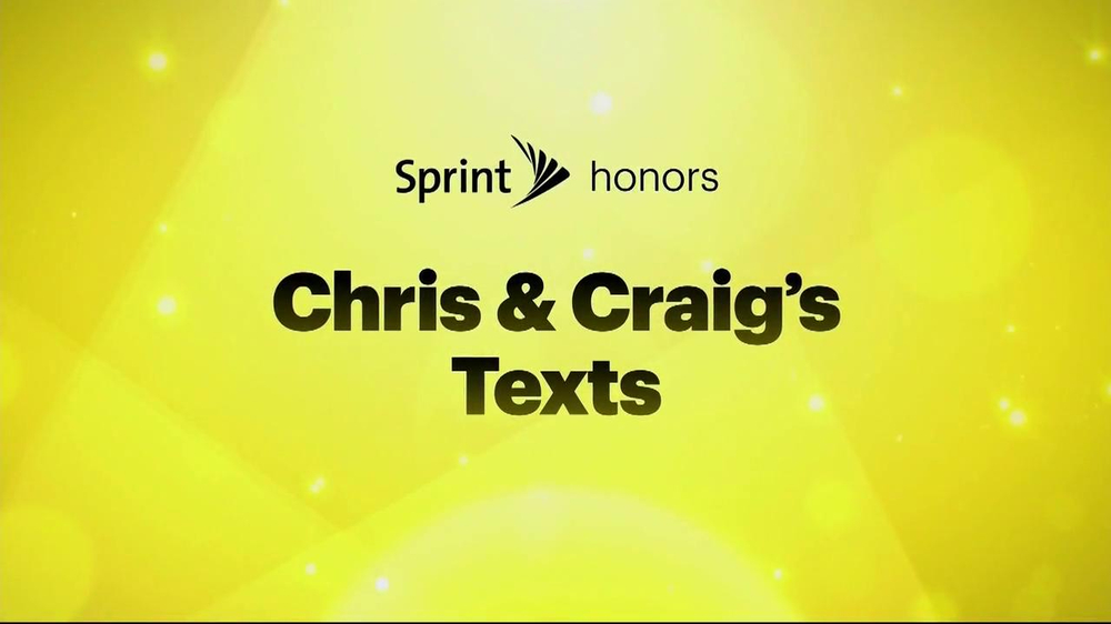 Sprint TV Spot, 'Chris & Craig' Ft. Malcom McDowell, James Earl Jones - 2367 commercial airings