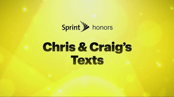 Sprint TV Spot, 'Chris & Craig' Ft. Malcom McDowell, James Earl Jones - 2356 commercial airings