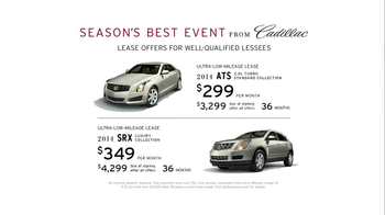 Cadillac Season's Best Event TV Spot - Thumbnail 9