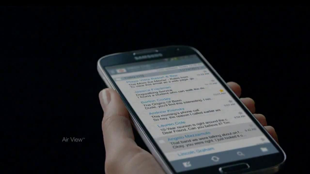 Samsung Galaxy S4 TV Spot, 'Accolades' - Screenshot 3