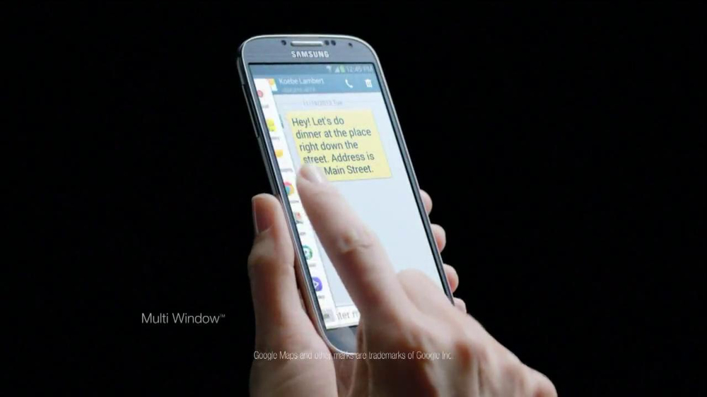 Samsung Galaxy S4 TV Spot, 'Accolades' - Screenshot 4