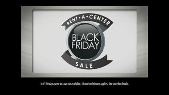 Rent-A-Center Black Friday TV Spot, 'Early'