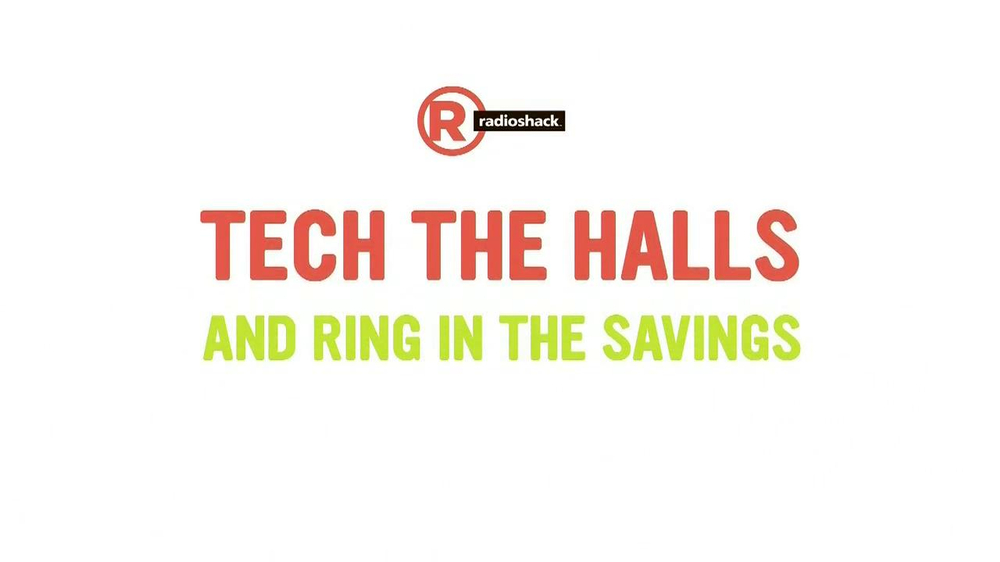 Radio Shack Tech the Halls Sale TV Spot - Screenshot 2