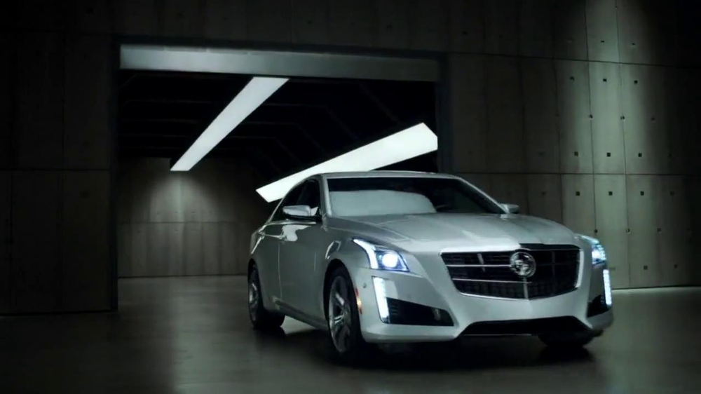 2014 Cadillac CTS Sedan TV Spot, 'Garages' - Screenshot 9