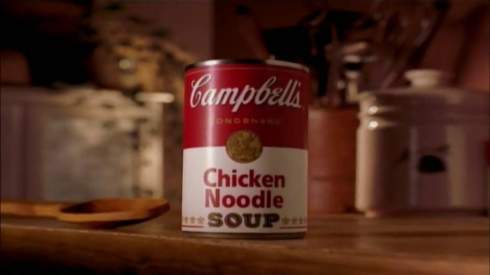 Campbell's Chicken Noodle Soup TV Spot, 'Snowman' - Screenshot 10