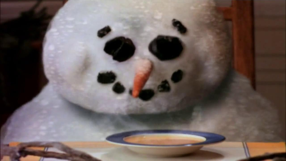 Campbell's Chicken Noodle Soup TV Spot, 'Snowman' - Screenshot 7