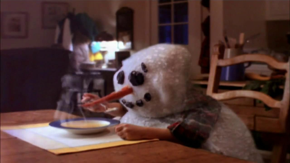 Campbell's Chicken Noodle Soup TV Spot, 'Snowman' - Screenshot 9