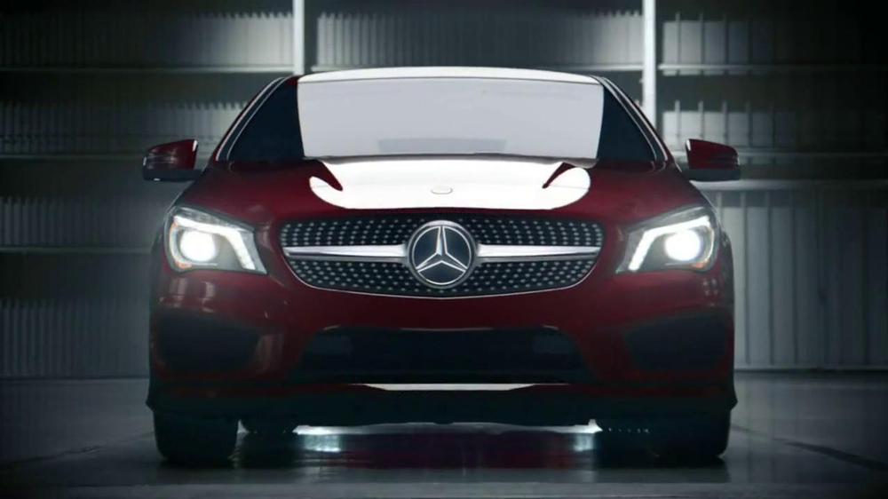 Mercedes Benz Winter Event Commercial