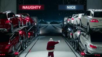 Mercedes-Benz Winter Event TV Spot, 'Santa's List'