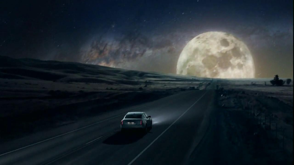 2014 Cadillac CTS Sedan TV Spot, 'Moon' Song by Ulrich Schnauss - Screenshot 9