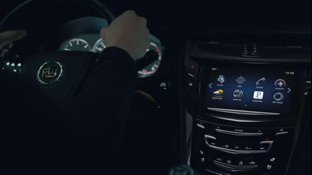 2014 Cadillac CTS Sedan TV Spot, 'Moon' Song by Ulrich Schnauss - Screenshot 2