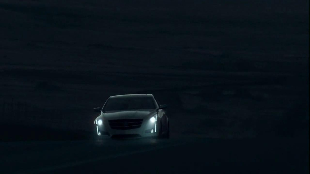 2014 Cadillac CTS Sedan TV Spot, 'Moon' Song by Ulrich Schnauss - Screenshot 3
