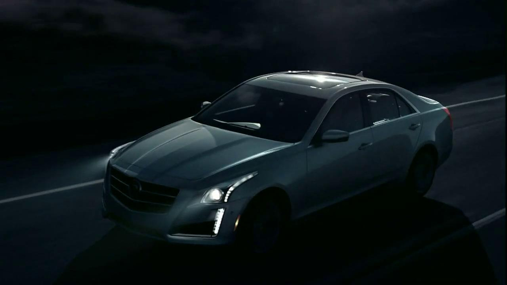 2014 Cadillac CTS Sedan TV Spot, 'Moon' Song by Ulrich Schnauss - Screenshot 5