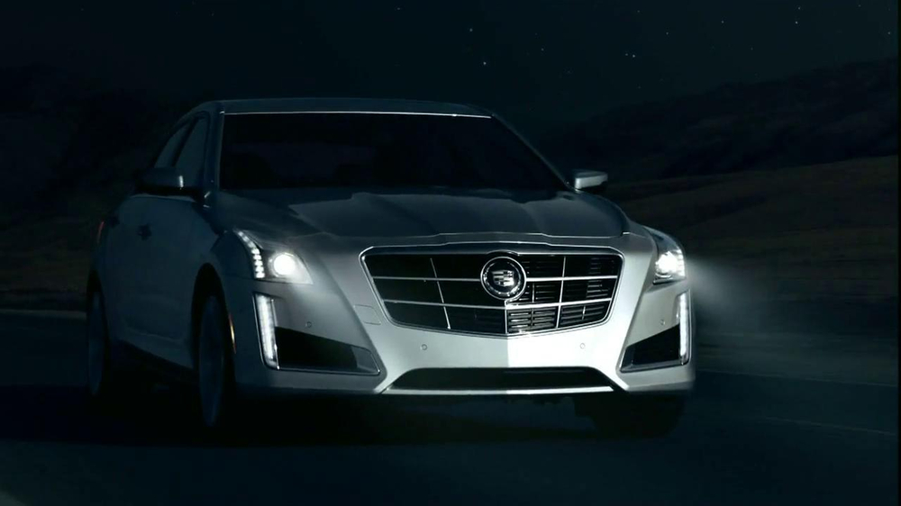 2014 Cadillac CTS Sedan TV Spot, 'Moon' Song by Ulrich Schnauss - Screenshot 8