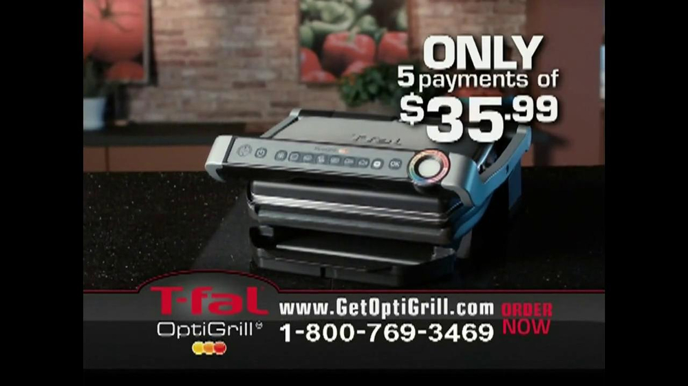 T-Fal OptiGrill TV Spot - Screenshot 9